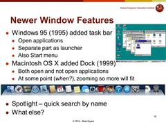 Lecture 05 Deep Dive: Desktop Metaphors , Icons ,Window Managers