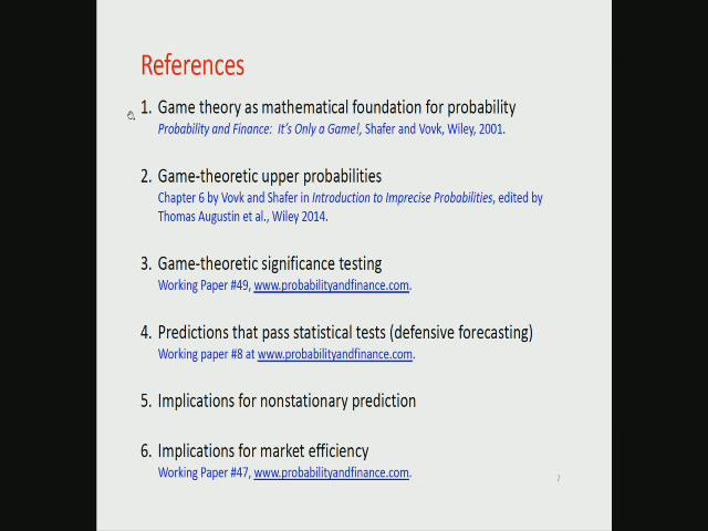 significance of game theory