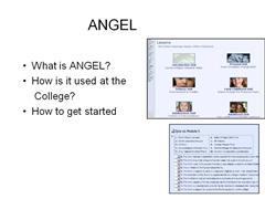 ANGEL Adjunct Information