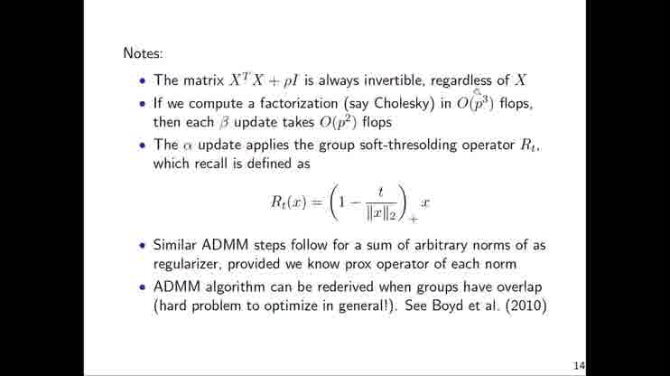 Lecture 22 Alternating Direction Method of Multipliers