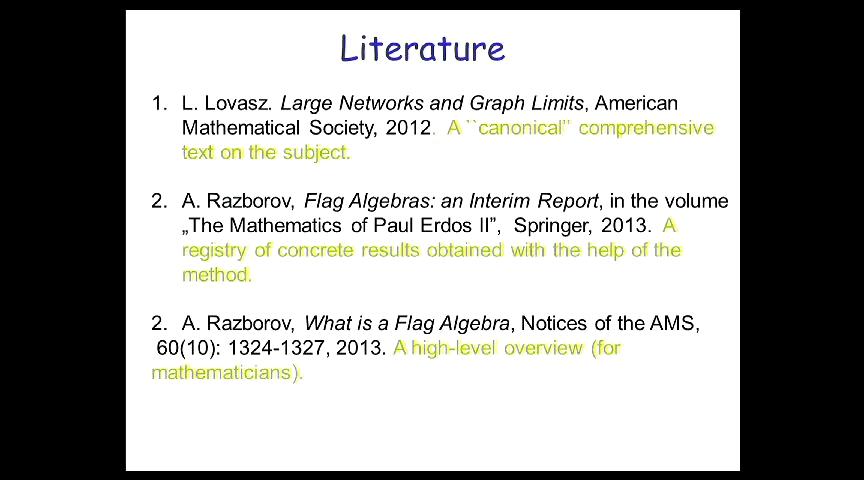 Syntactic methods in continuous combinatorics - Alexander Razborov