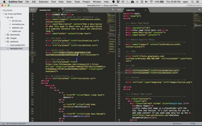 GRD188 Framework Project Self-Hosted Font Awesome
