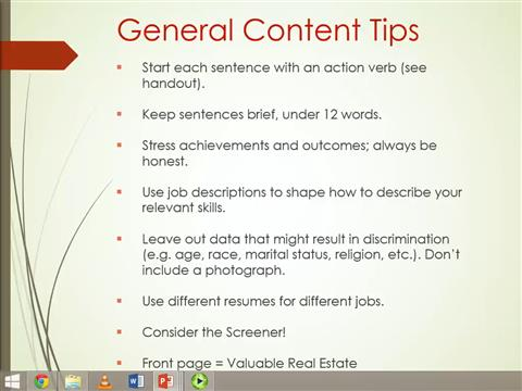 CV to Resume: Preparing the Write Stuff for Employers and