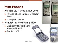 Lecture 04 History of Handhelds (PDAs to Smartphones & Tablets) and