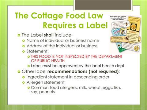 Alabama Cottage Food Law: Rules and Regulations - Alabama