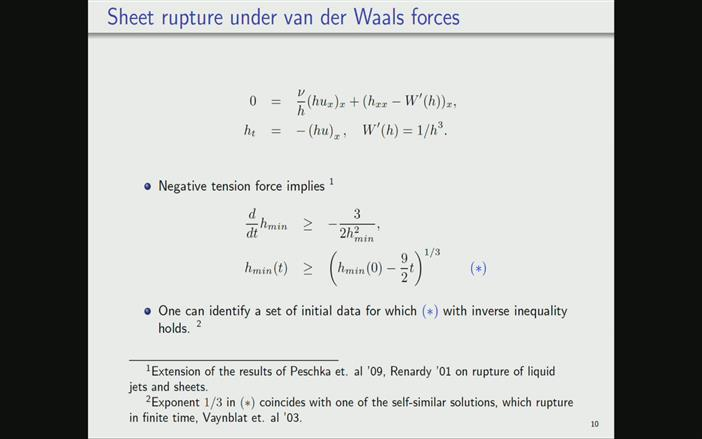 Asymptotic Decay And Rupture In Thin Viscous Liquid Sheets Past And