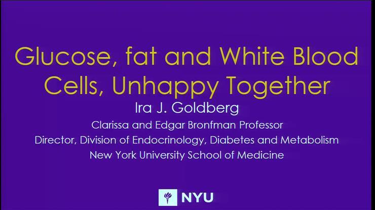 GCDTR Presents Dr  Ira Goldberg