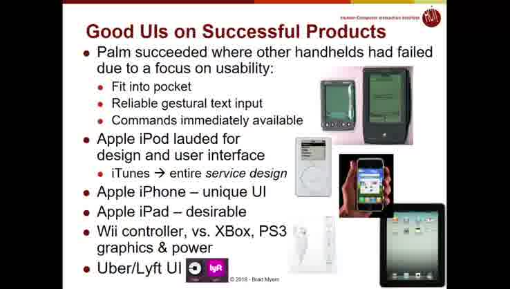 Lecture 01: Introduction and Why are UIs Important and