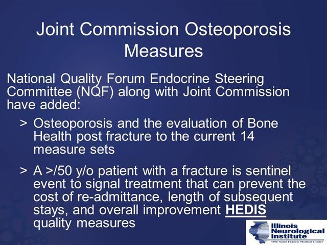 Osteoporosis 2-23-19